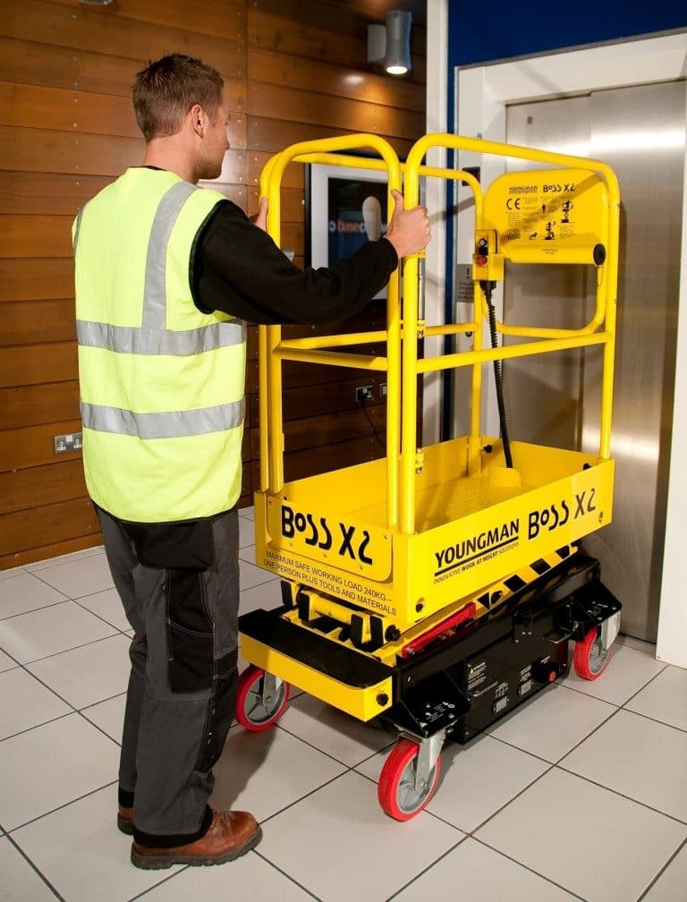 Boss X2 Scissor Lift Hire