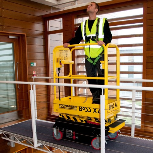 Boss X2 Scissor Lift Hire In
