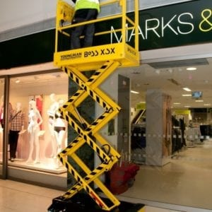 Boss X3 Scissor Lift Hire In
