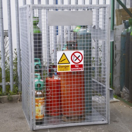Gas Cage Slimline Hire