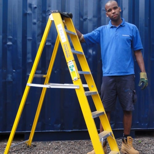 GRP Step Ladder Hire In