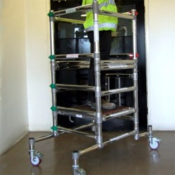 Microfold 1000 Podium Step Hire In