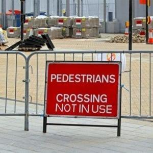 Pedestrian Barrier Hire In