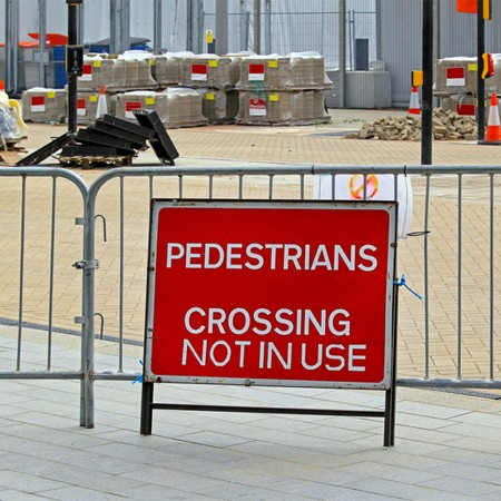 Pedestrian Barrier Hire In