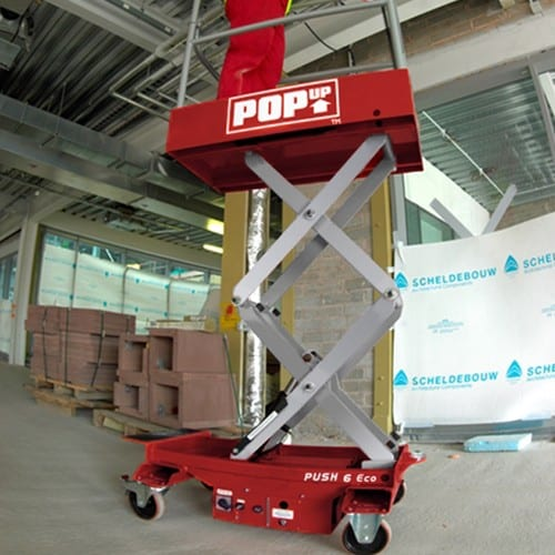 Pop Up Scissor Lift Hire