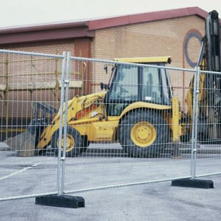 Temporary Heras Fencing Hire In