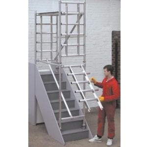 Alloy Stair Scaffold Tower Hire In