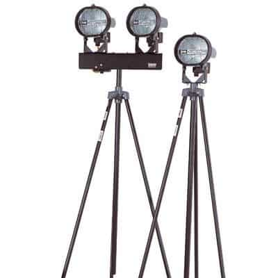 Single 500w Tripod Floodlight Hire In