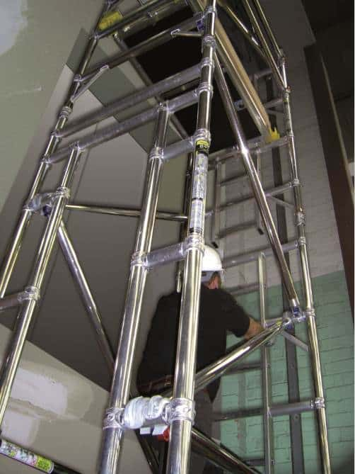 Lift Shaft Scaffold Tower Hire Hire In