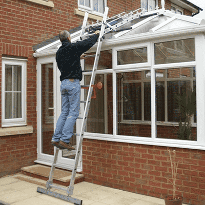 Conservatory Ladder Hire